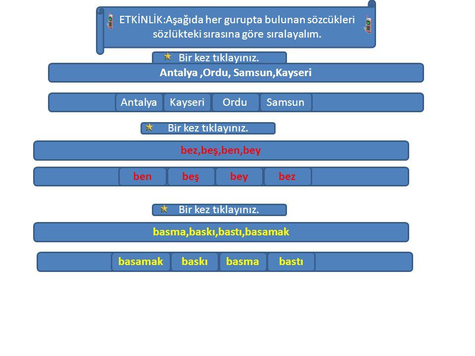 Antalya ,Ordu, Samsun,Kayseri basma,baskı,bastı,basamak