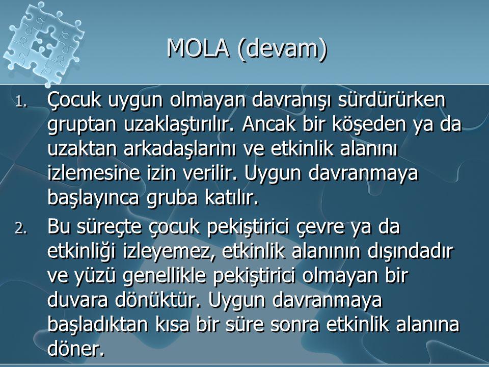 MOLA (devam)