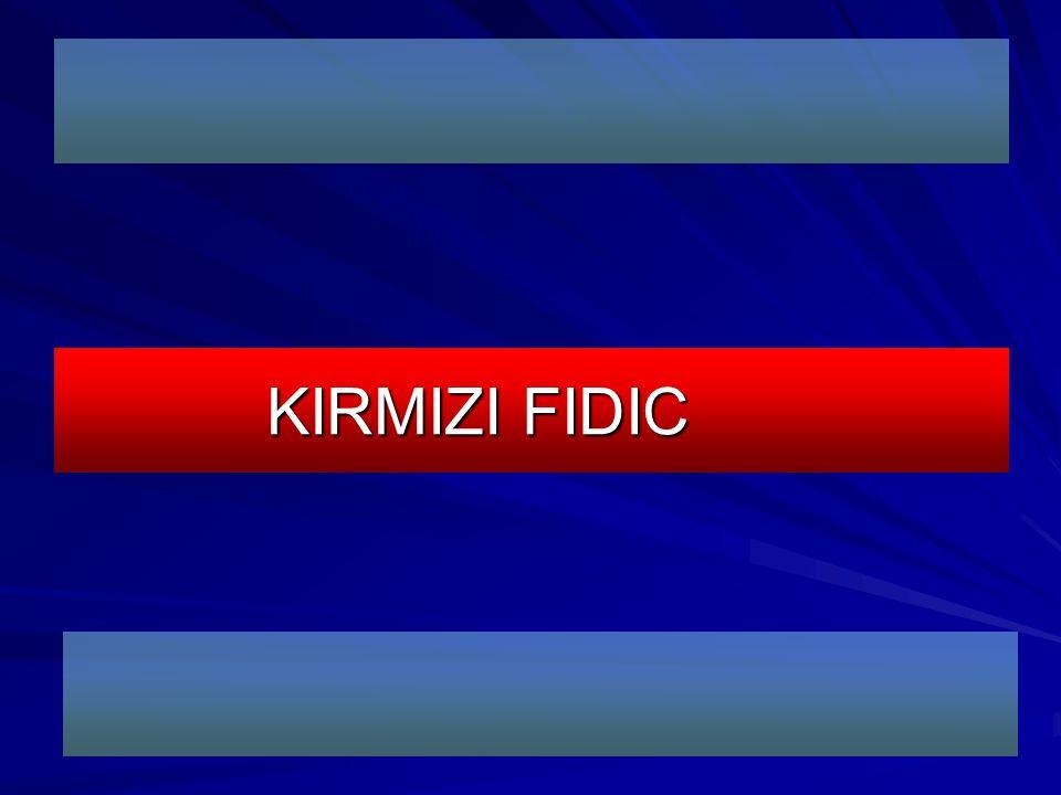 KIRMIZI FIDIC
