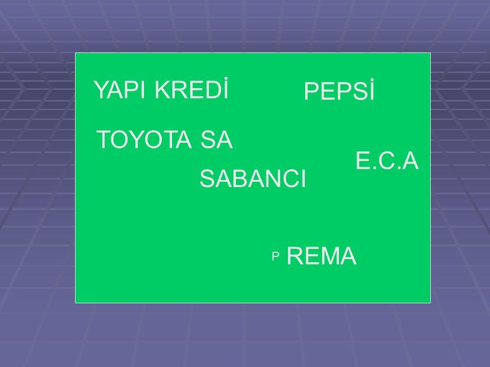 SABANCI YAPI KREDİ PEPSİ TOYOTA SA E.C.A REMA P