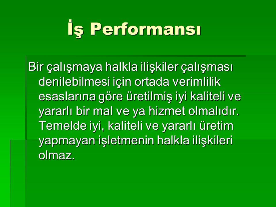 İş Performansı