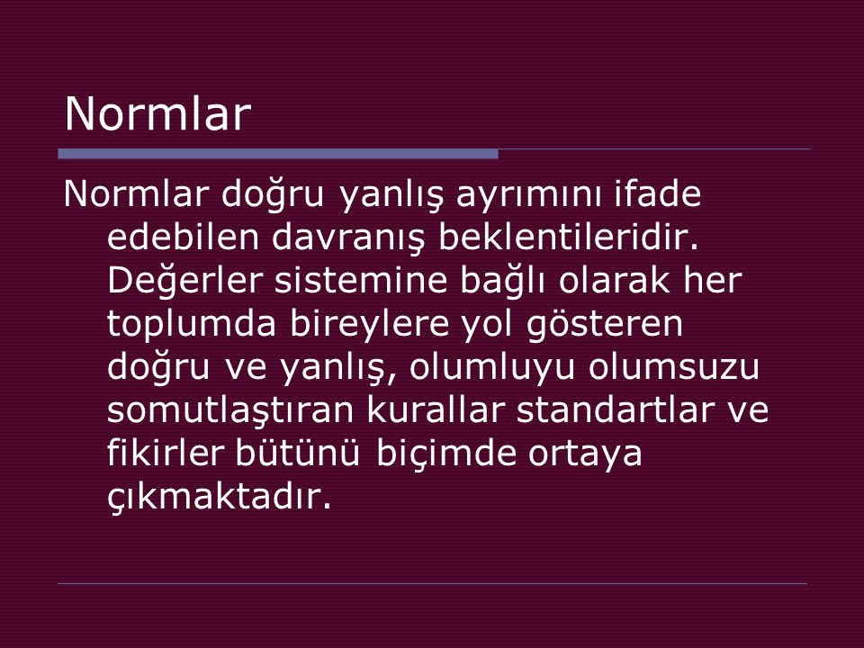 Normlar