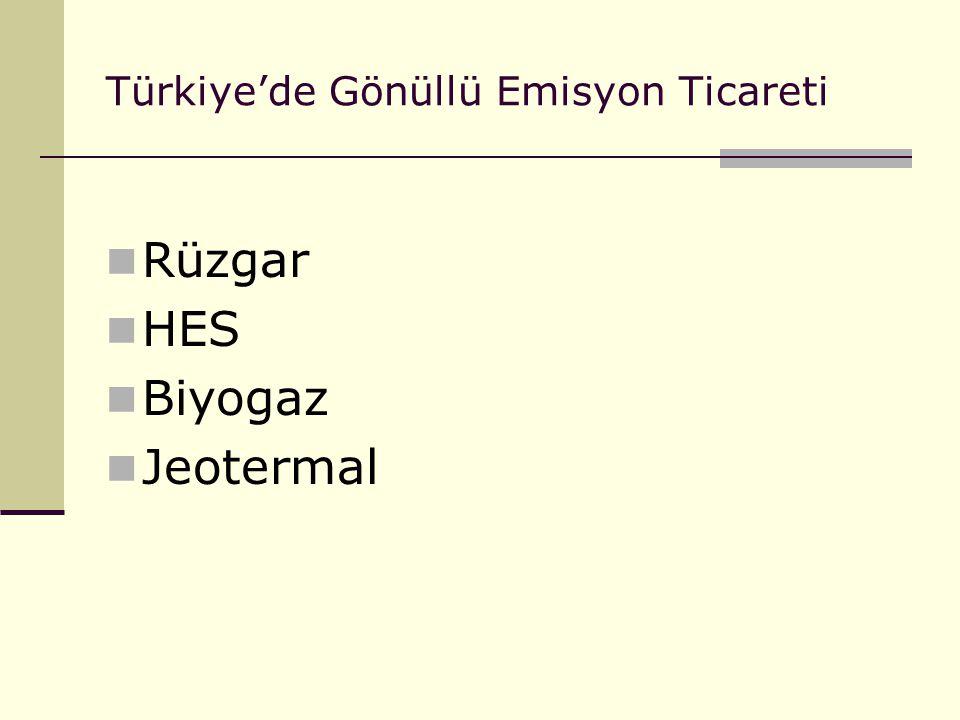 Türkiye'de Gönüllü Emisyon Ticareti