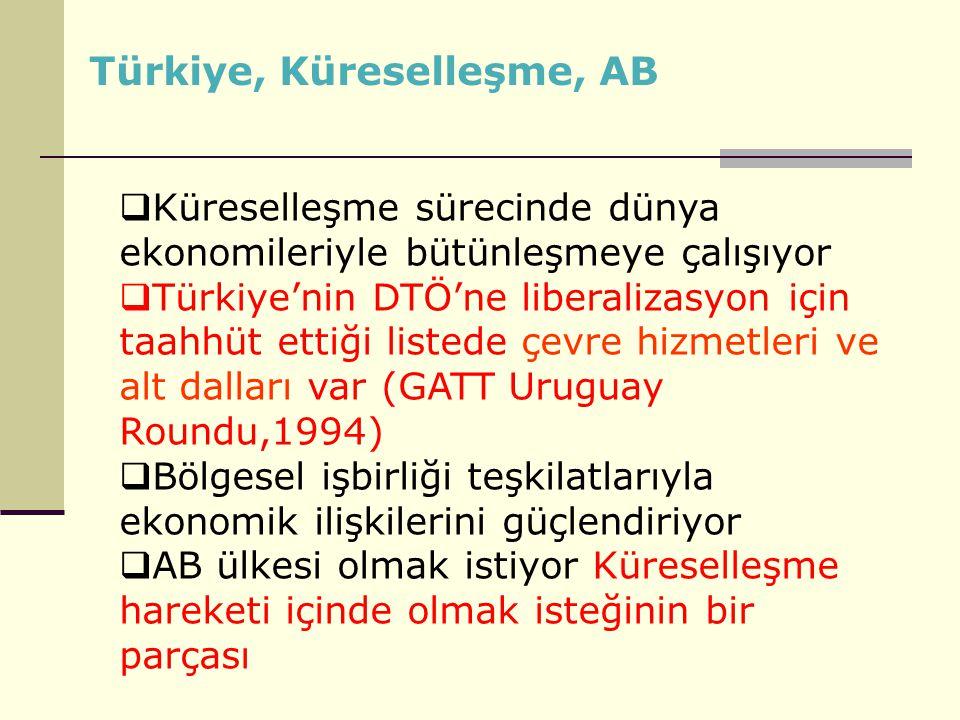 Türkiye, Küreselleşme, AB