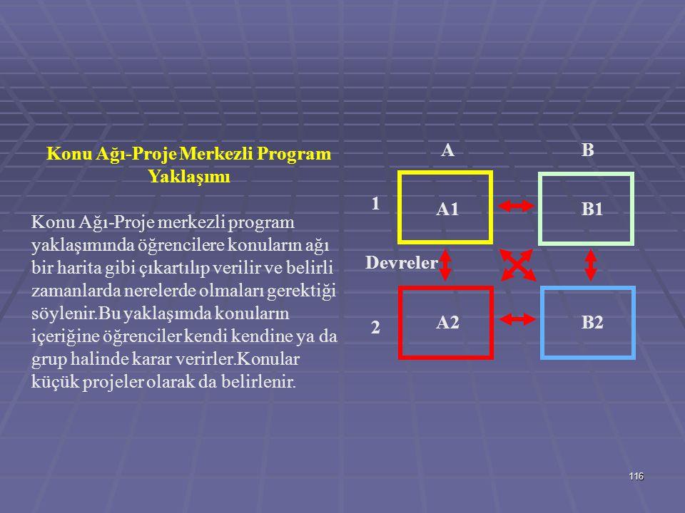 Konu Ağı-Proje Merkezli Program Yaklaşımı