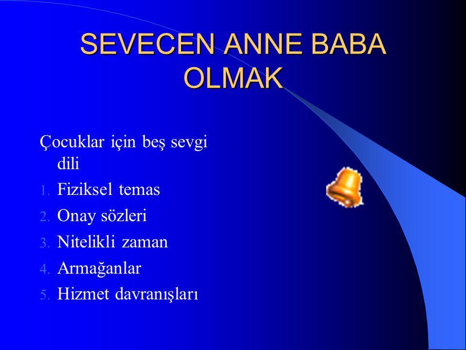 SEVECEN ANNE BABA OLMAK