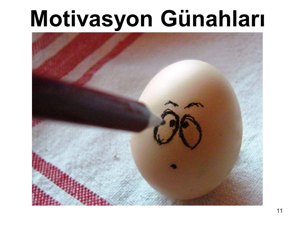 Motivasyon Günahları