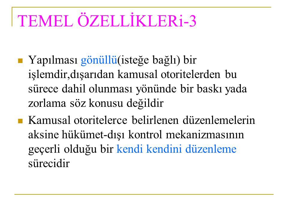 TEMEL ÖZELLİKLERi-3