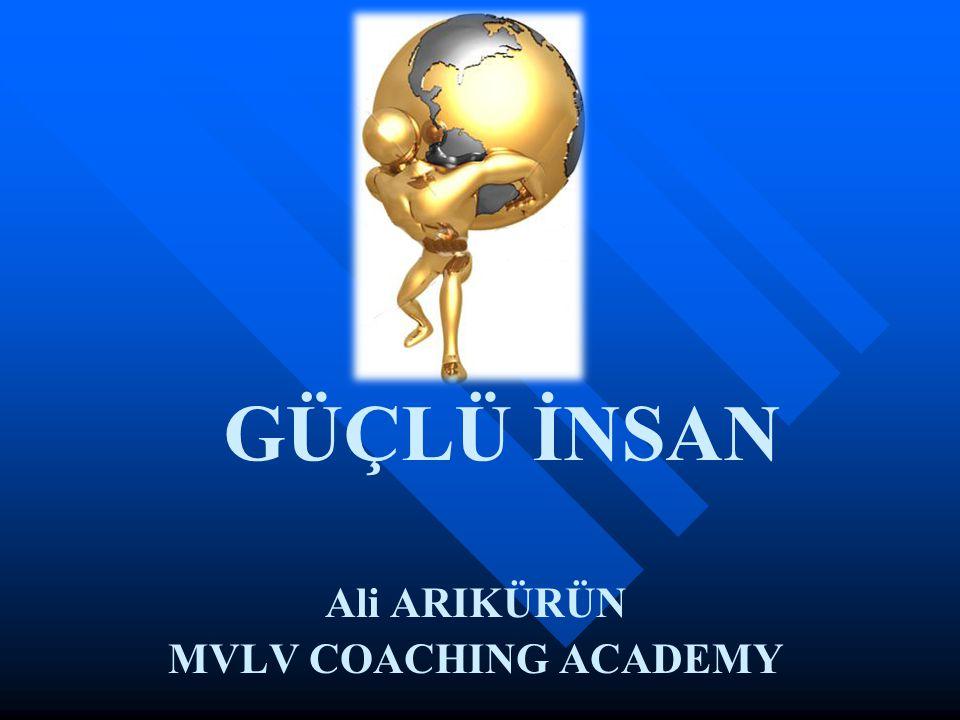 Ali ARIKÜRÜN MVLV COACHING ACADEMY