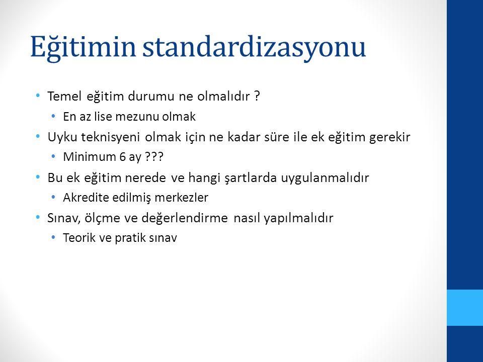 Eğitimin standardizasyonu