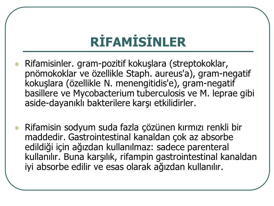 RİFAMİSİNLER