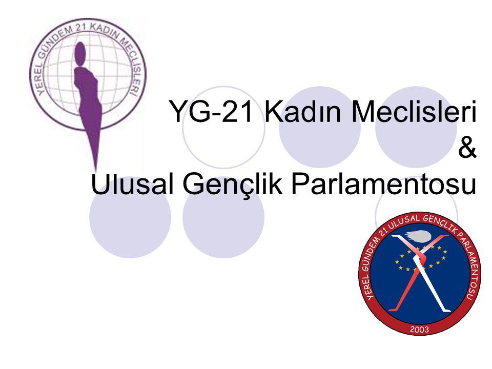 YG-21 Kadın Meclisleri & Ulusal Gençlik Parlamentosu