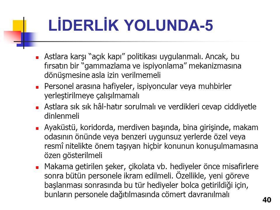LİDERLİK YOLUNDA-5