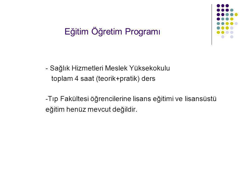 Eğitim Öğretim Programı