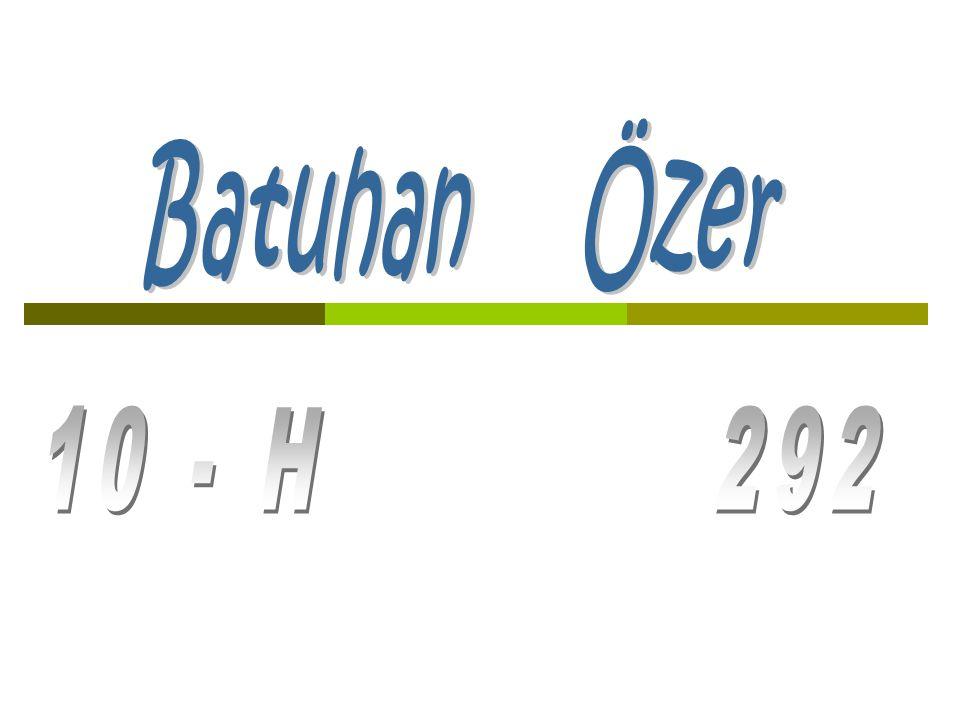 Batuhan Özer 10 - H 292