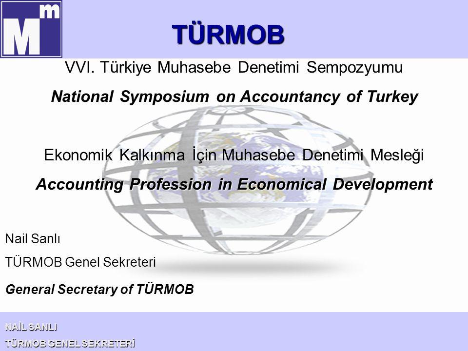 TÜRMOB VVI. Türkiye Muhasebe Denetimi Sempozyumu