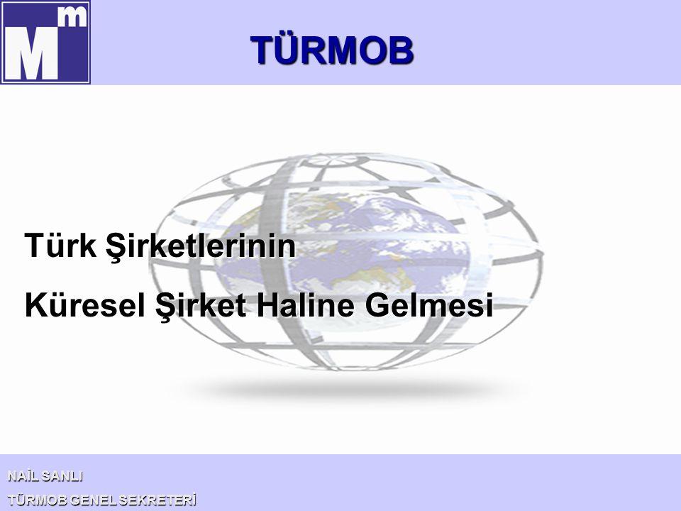 TÜRMOB Türk Şirketlerinin Küresel Şirket Haline Gelmesi NAİL SANLI