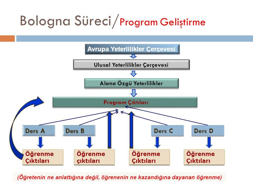 Bologna Süreci/Program Geliştirme