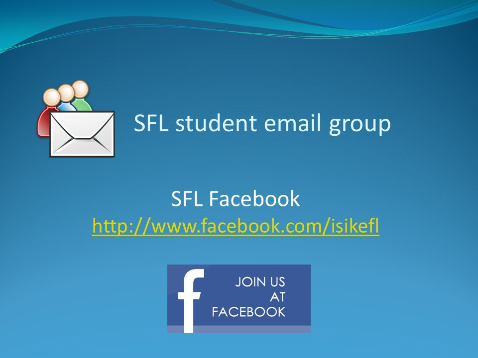 SFL student email group