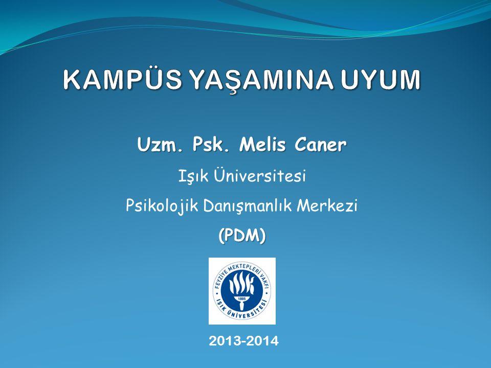 Psikolojik Danışmanlık Merkezi (PDM)