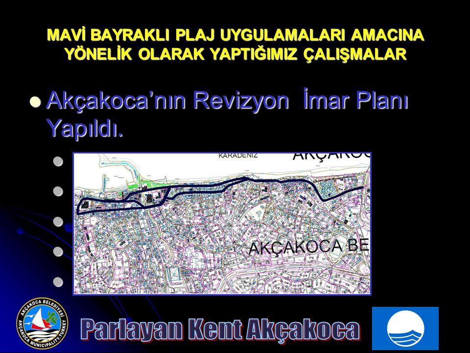 Akçakoca'nın Revizyon İmar Planı Yapıldı.