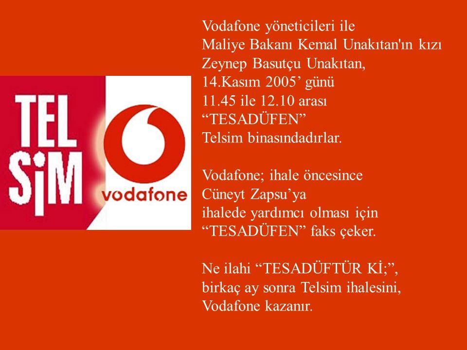 Vodafone yöneticileri ile