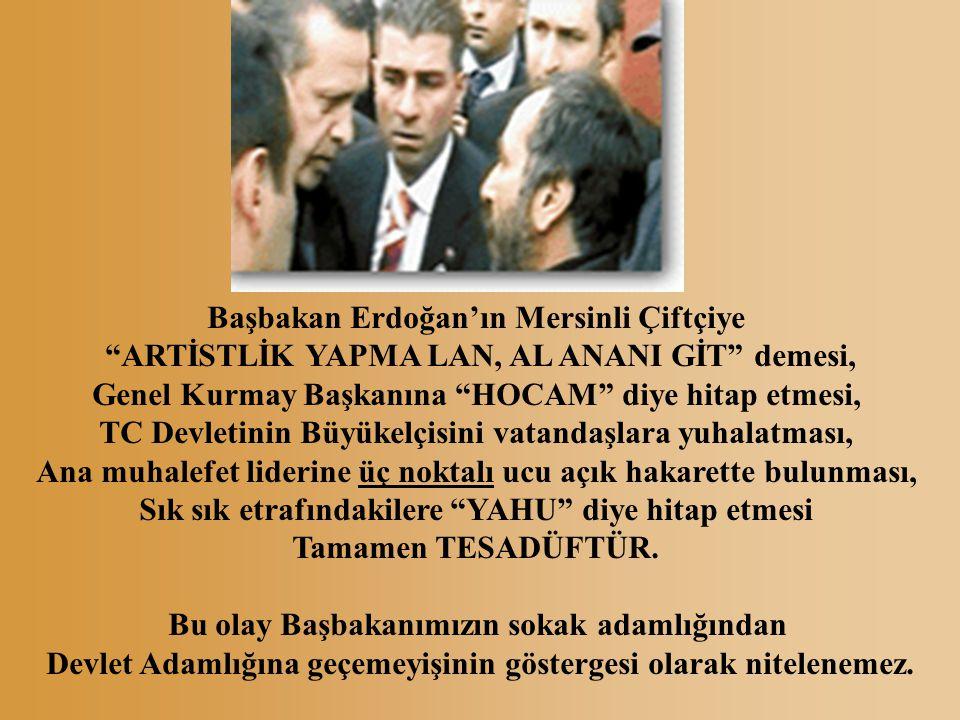 Başbakan Erdoğan'ın Mersinli Çiftçiye