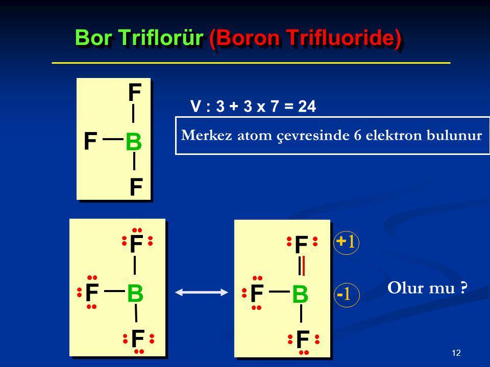 Bor Triflorür (Boron Trifluoride)
