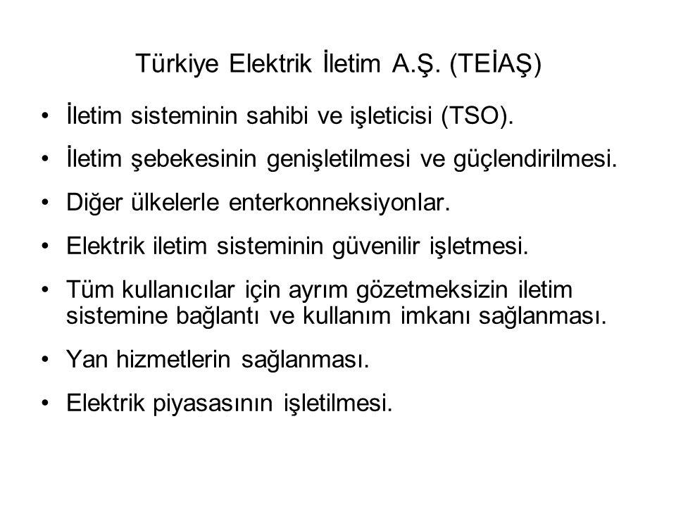 Türkiye Elektrik İletim A.Ş. (TEİAŞ)