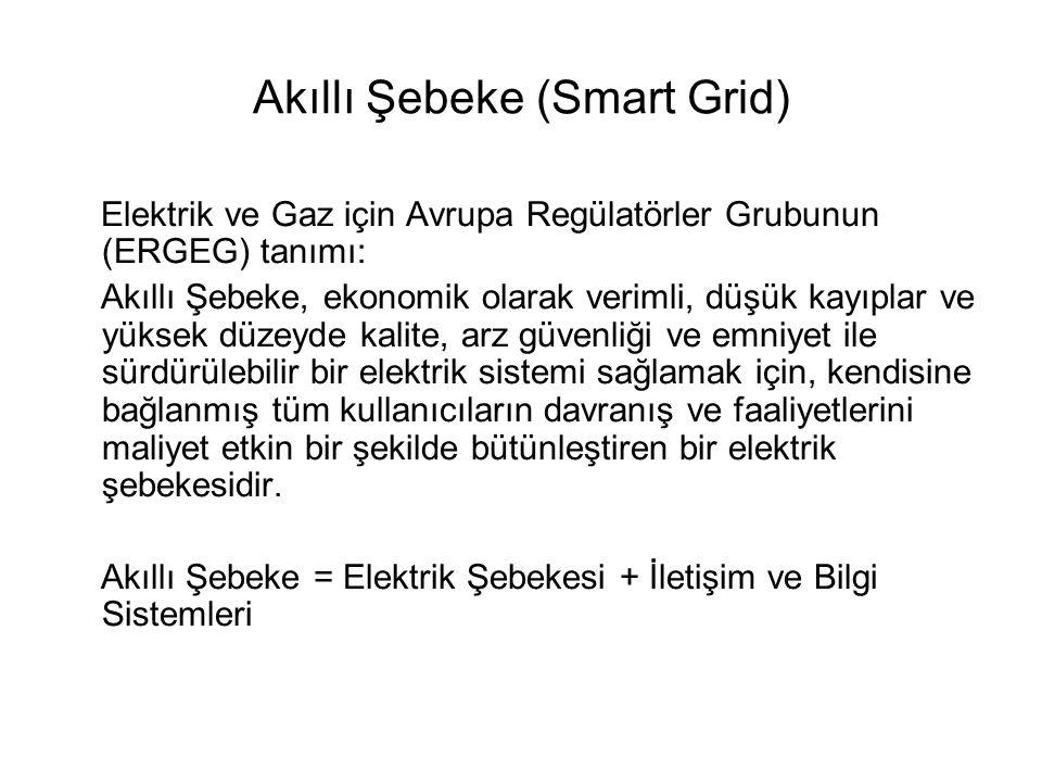 Akıllı Şebeke (Smart Grid)