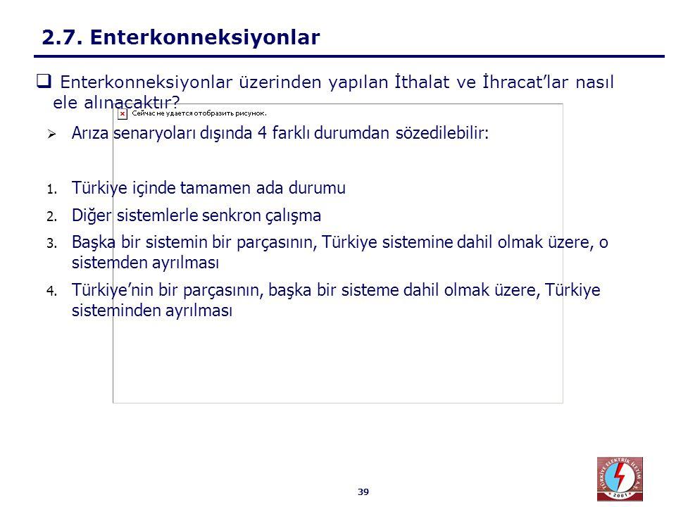 Türkiye içinde tamamen ada durumu