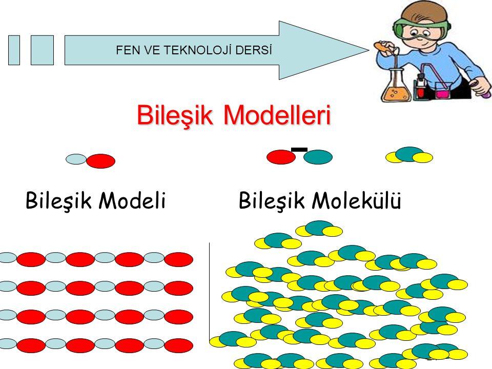Bileşik Modelleri Bileşik Modeli Bileşik Molekülü 24