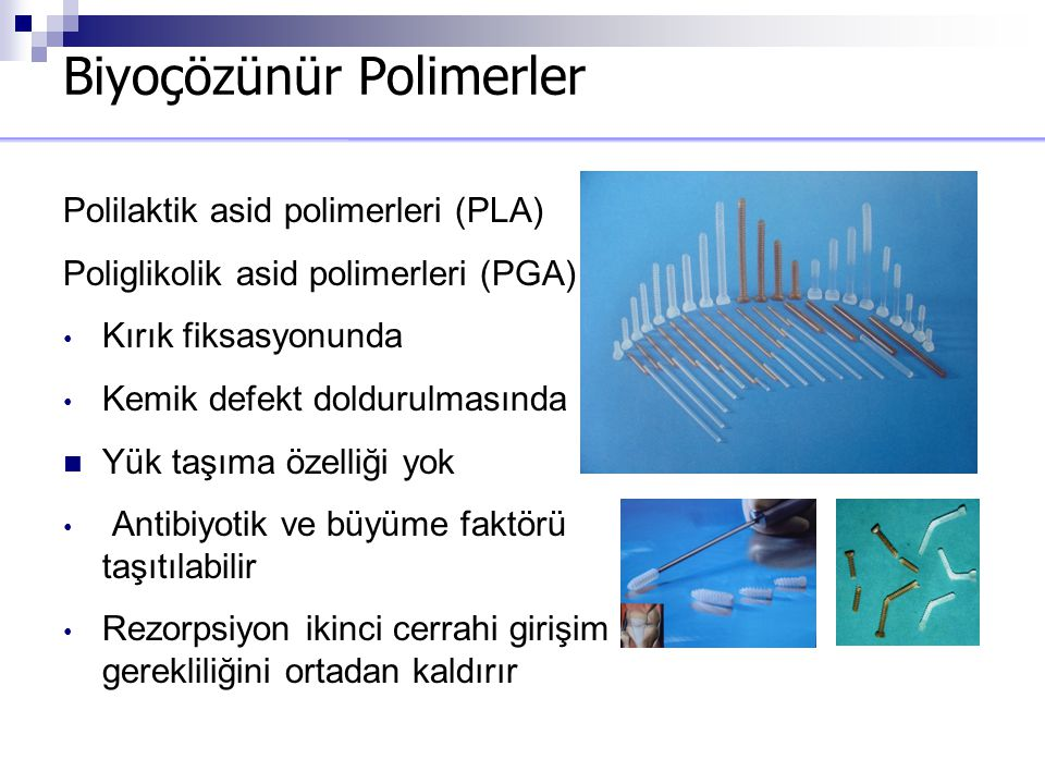 Biyoçözünür Polimerler