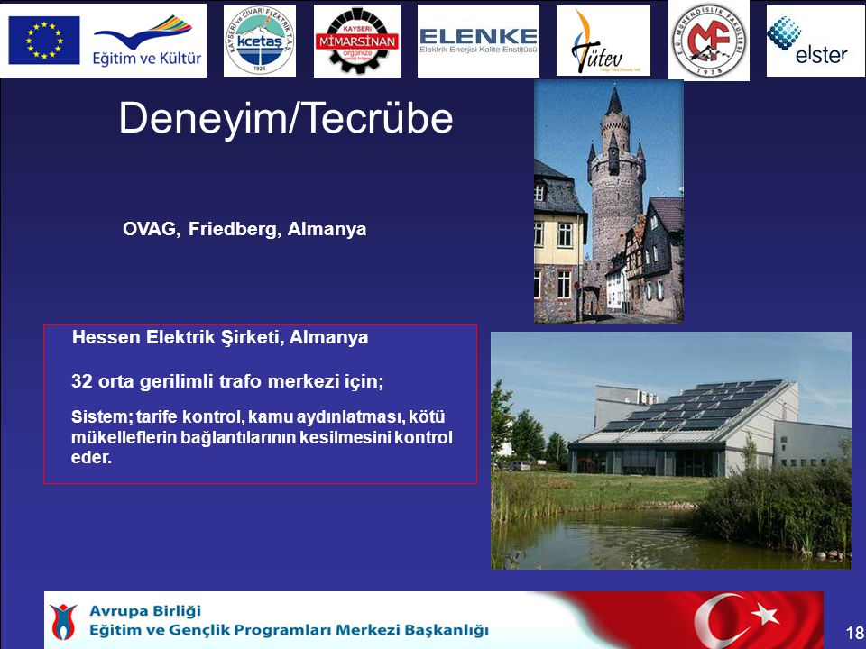 Deneyim/Tecrübe OVAG, Friedberg, Almanya