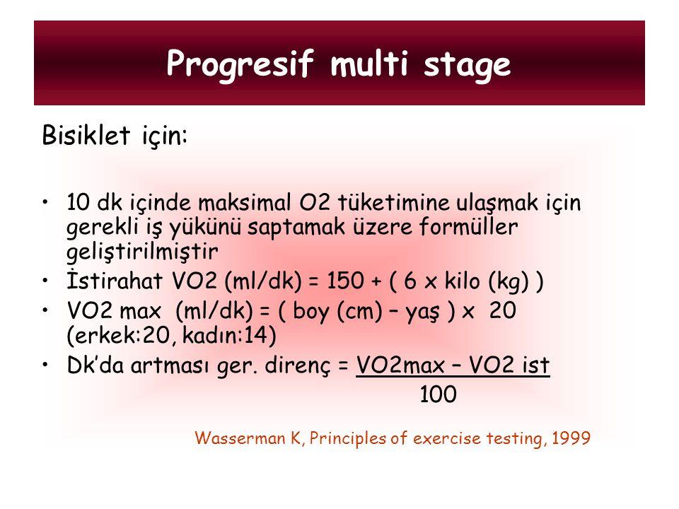 Progresif multi stage Bisiklet için: