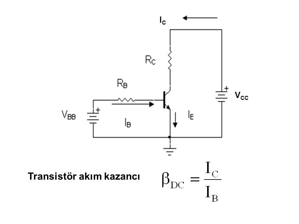 Transistör akım kazancı