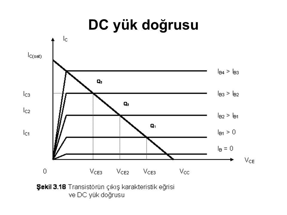 DC yük doğrusu