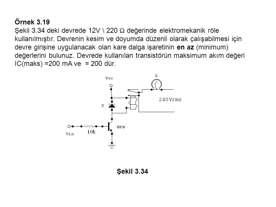 Örnek 3.19