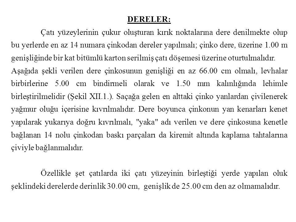 DERELER: