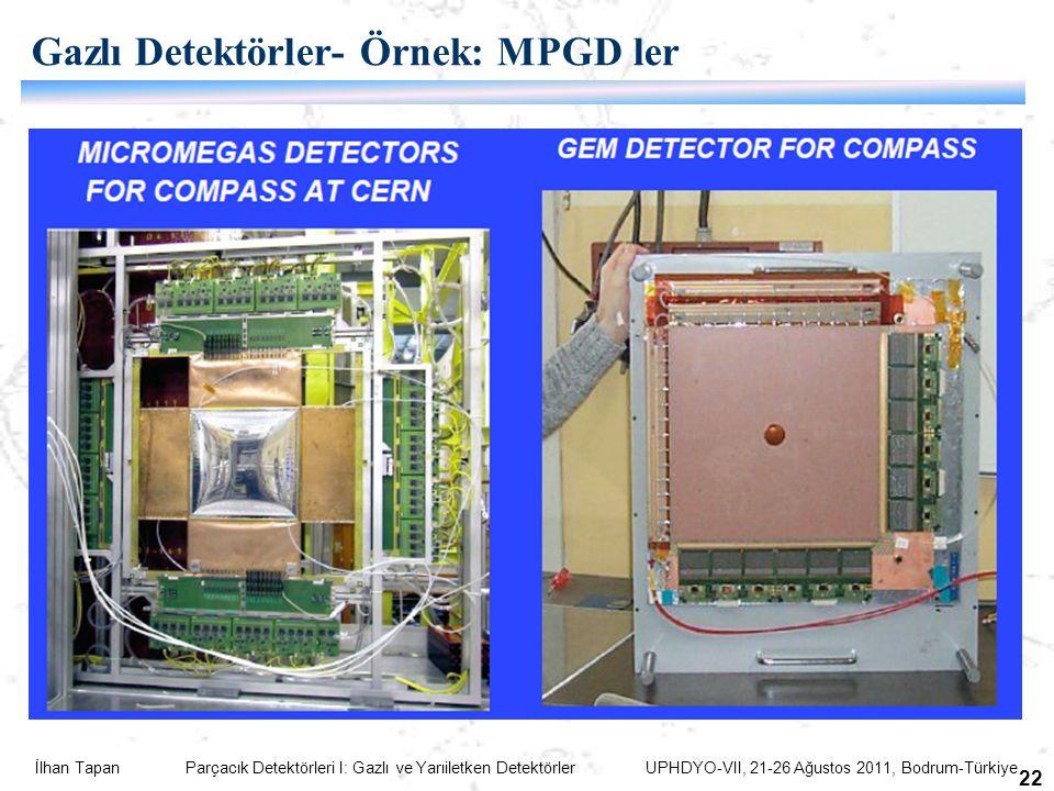 Gazlı Detektörler- Örnek: MPGD ler