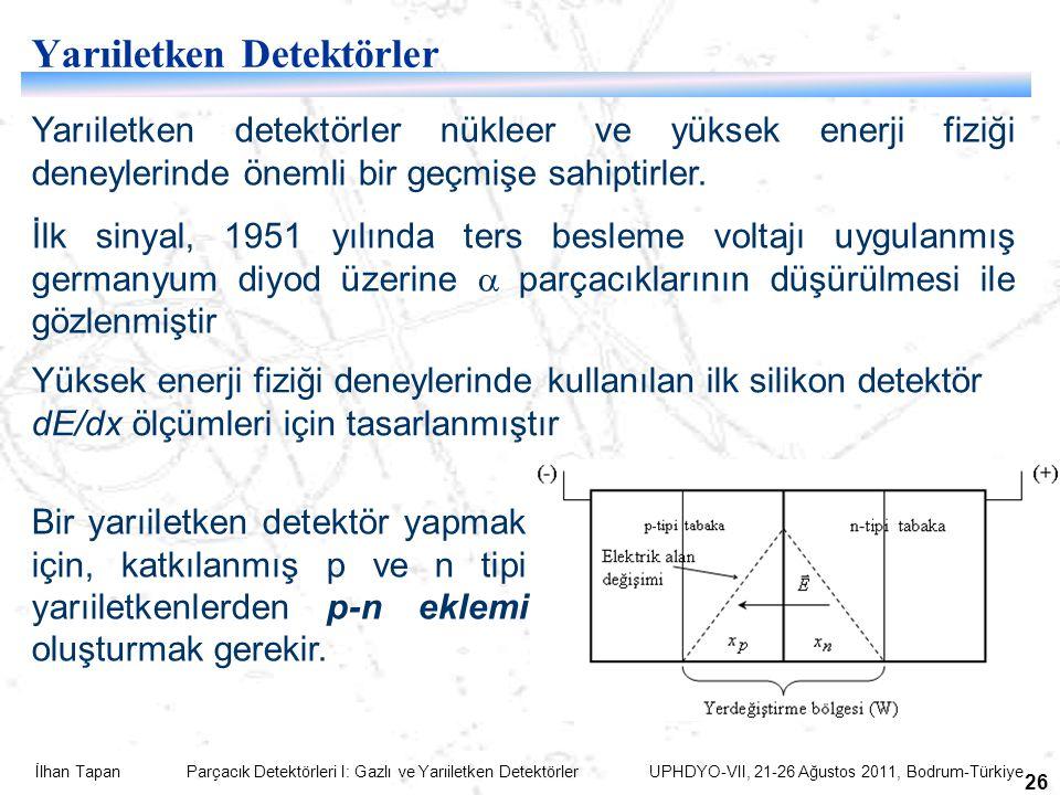Yarıiletken Detektörler