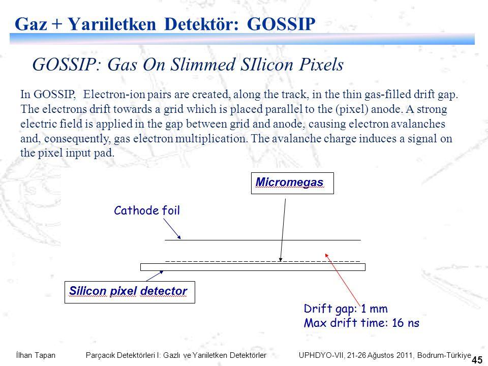Gaz + Yarıiletken Detektör: GOSSIP