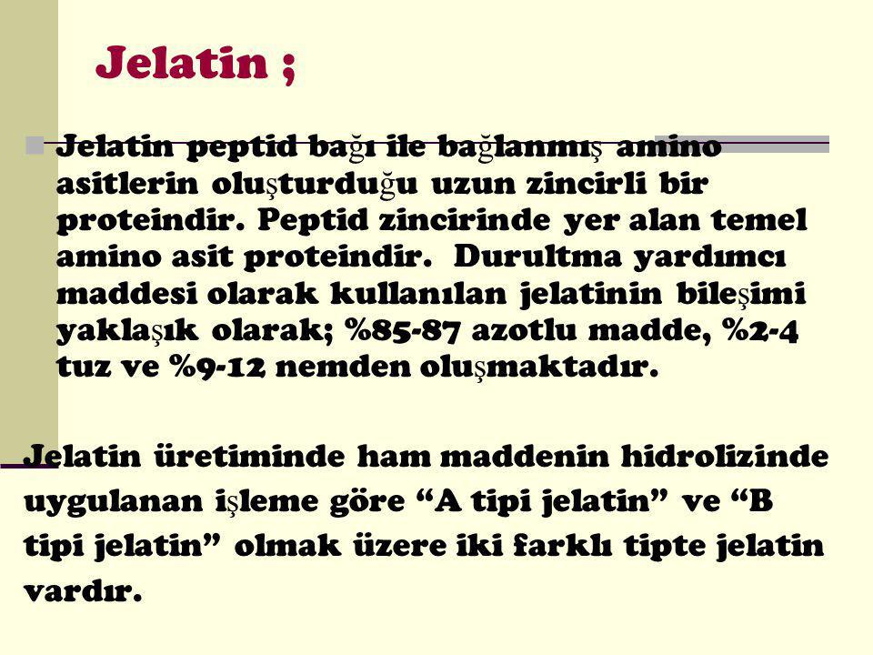 Jelatin ;