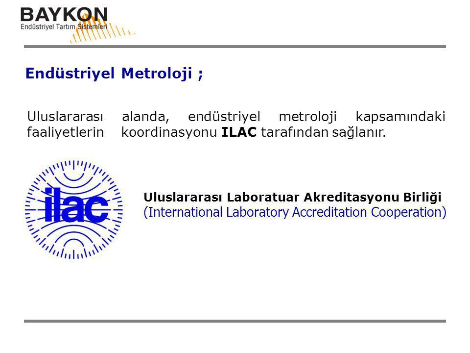 Endüstriyel Metroloji ;