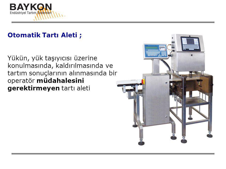 Otomatik Tartı Aleti ;