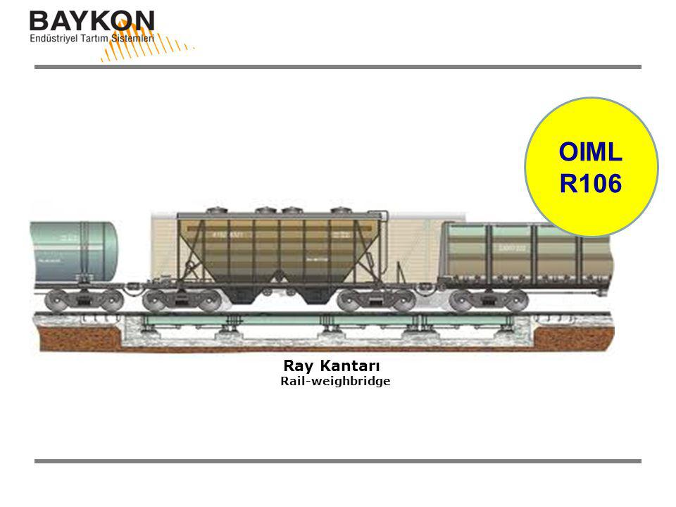 OIML R106 Ray Kantarı Rail-weighbridge