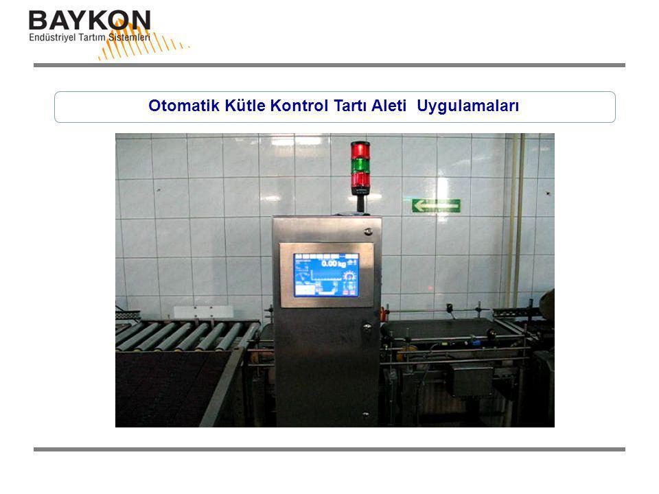 Otomatik Kütle Kontrol Tartı Aleti Uygulamaları