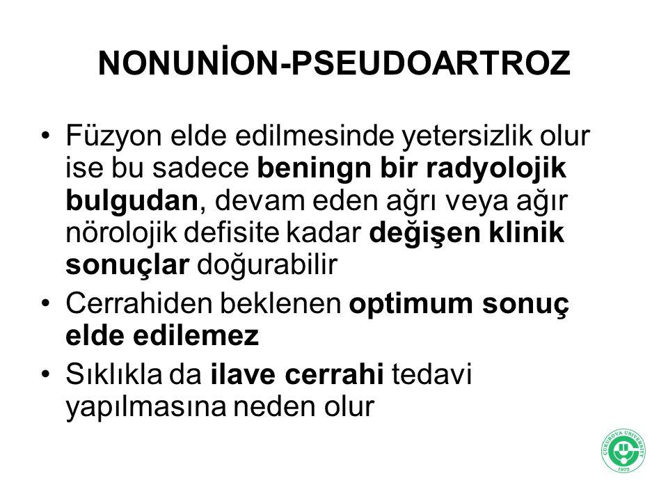 NONUNİON-PSEUDOARTROZ