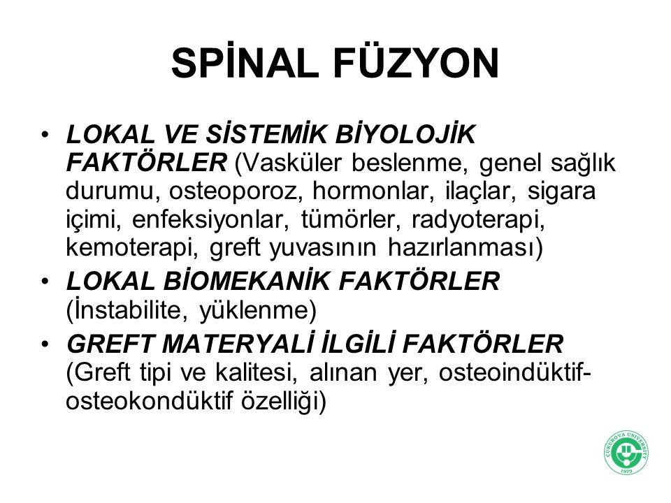 SPİNAL FÜZYON