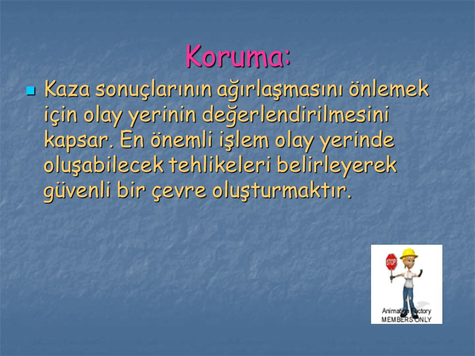 Koruma: